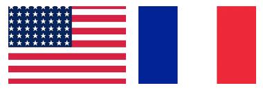 USA/France Flag